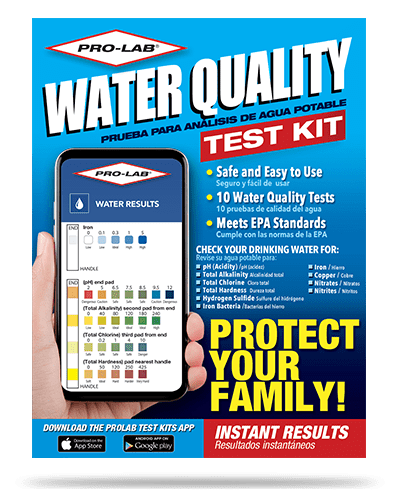 2021 water quality test