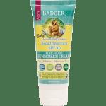 baby sunscreen spf30 badger cream