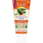 kids sunscreen cream spf30 badger